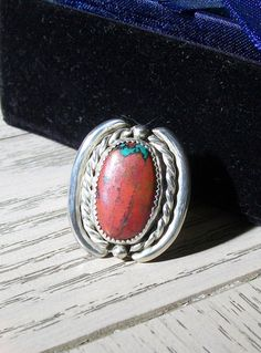 Very Popular Handcrafted Sonoran Sunrise Ring by @DavidFourFeathers, $110.00