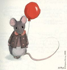 Delphine Doreau, Mousie with red balloon