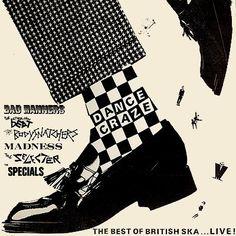 Dance Craze - The Best of British Ska.: Dance Craze - The Best of British Ska. Lp Cover, Vinyl Cover, Cover Art, Ska Music, Music Icon, Pop Art, Ska Punk, Inspiration Artistique, Best Of British