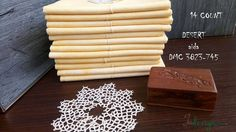 14 count DESERT hand dyed Aida for cross stitch, hardanger, blackwork, embroidery works 19x21 inch by xJudesign on Etsy