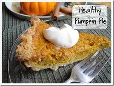 Homemade Healthy Pumpkin Pie Recipe