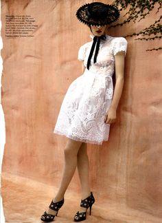 everyone needs a little white dress....