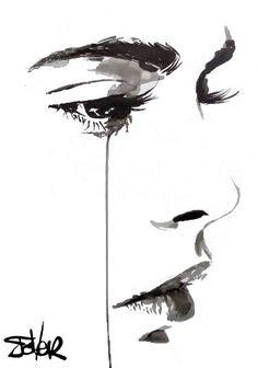 "Saatchi Art Artist LOUI JOVER; Drawing, ""halo"" #art"