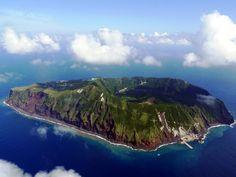 Aogashima - volcanic island