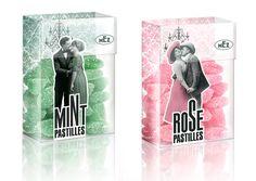 MEZ Pastilles packaging. Design by mousegraphics