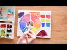 PAINT WITH ME: Watercolor Roses Tutorial (Easy, Beginner Painting ...