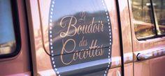 Le Boudoir des Cocottes® - The first beauty van in France Check it out at: http://www.leboudoirdescocottes.eu/