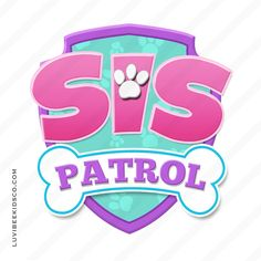 Paw Patrol Iron On Transfer - Patrol Pink Girl Paw Patrol Party, Sky Paw Patrol, Paw Patrol Birthday Theme, Paw Patrol Shirt, Paw Patrol Toys, Paw Patrol Cake, 2nd Birthday Parties, Birthday Fun, Birthday Ideas