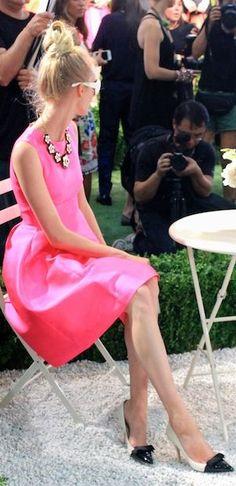my favorite dress ad color! - Kate Spade Spring 2014