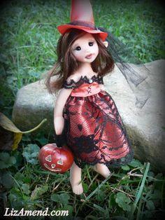 Tessa, a witch faery.  www.LizAmend.com