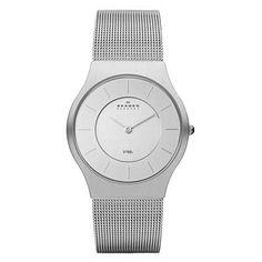 Men's Skagen Mesh Watch (Model: 233LSS)