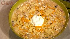 Trisha Yearwood's Chicken Tortilla Soup Recipe #thechew