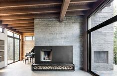 Résidence Mikelberg on Behance Architecture Design, Concrete, Interior Design, Interior Ideas, House, Inspiration, Behance Net, Volumes, Home Decor