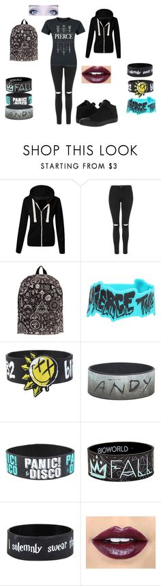 """""""Untitled #308"""" by pufferfishgal on Polyvore featuring Topshop, Fiebiger and Converse"""