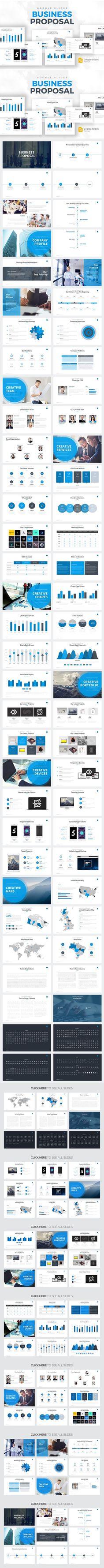 Business Proposal - Google Slides. Business Infographic