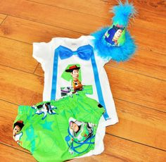perfect or a TOY STORY birthday party, super cute set by RYLOwear