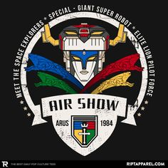 ''Arus Air Show'' by Kempo24 available today only, 9/17/15, at RIPT Apparel