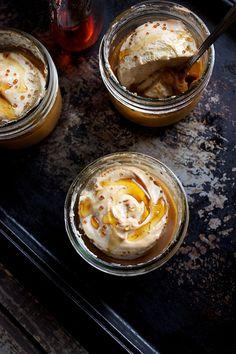 Maple Pumpkin Pie with Brown Sugar Meringue (Gluten & Dairy Free) by kitchensimplicity #Pumpkin_Pie #GF