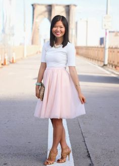 5775195c Trending: Tulle skirts and how to wear them | Miss Rich Nyc Fashion, Pink