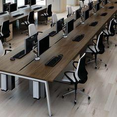 Linnea Bench Desk. This, in white.