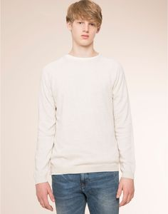 BASIC SWEATER - BASICS - MAN - PULL&BEAR United Kingdom