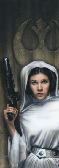 Princess Leia. Leia eventually safely delivers the Death Star plans to the Rebel resistance via R2-D2 and sets into motion the utter collapse and downfall of the Galactic Empire.