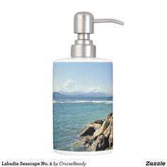 Shop Labadie Seascape No. 2 Bathroom Set created by CruiseReady. Nautical Bath, Bath Decor, Bathroom Sets, Soap Dispenser, Color, Design, Soap Dispenser Pump, Colour, Bedroom Sets