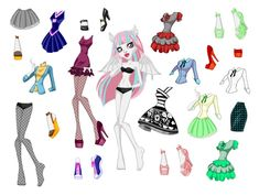 monsterhighkuklasodezhdoy.jpg (791×595)* 1500 free paper dolls at Arielle Gabriels International Paper Doll Society also free paper dolls at The China Adventures of Arielle Gabriel *