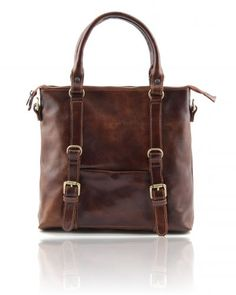 Lady leather bag Brown