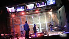 Evento Web Ones (Teatro Lara - Madrid). 2007 Luces y pantallas para montaje teatral.
