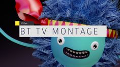 BT TV MONTAGE. We were delighted to be selected to develop a top down re-design of BT's on-air identity. Previously known as BT Vision, the ...