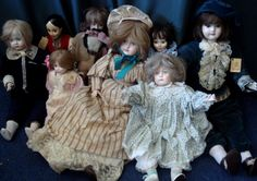 In 1980 we didn't collect dolls - we made the Image Porcelain Dolls and they made us famous. This is the story of how we made these collectors' pieces for seven years. Happy Pictures, Clowns, The Collector, Porcelain, Flower Girl Dresses, Dolls, Wedding Dresses, Healthy, Image