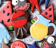 Use a cutter you probably already own to make some easy grill cookies for Father's Day or a barbecue!! ~tutorial