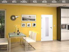 V konfigurátoru Soloddor si můžete vybrat model dveří, barevnost stěn i podlah, případně nahrát vlastní fotografii.