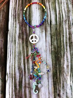 Rainbow Peace Shimmy on Etsy, $20.00