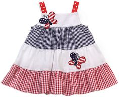 Image result for patriotic baby dress