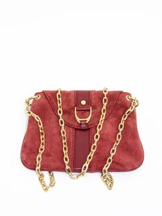 Cole-Haan-Red-Suede-Crossbody-Bag 1a6584e5b0