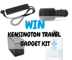 4 Travel Gadgets You Need On Your Next Trip (Win A Pack For Yourself)
