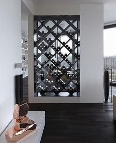 Creative DIY Wine Rack Wall Decor Ideas for Your Home, Office or Bar : Your wine cellar should have strong and long-lasting floors. Usually, wine cellars can be utilised to prevent damaging temperature changes, but very f. Wine Rack Design, Cellar Design, Wine Shelves, Wine Storage, Storage Ideas, Shelving, Wine Display, Display Case, Display Ideas