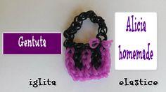Cum se face o  GENTUTA  din elastice doar cu iglita TUTORIAL (RO)- DIY Rubber Bands, Crochet Necklace, Homemade, Face, Youtube, Figurine, Home Made, The Face, Faces