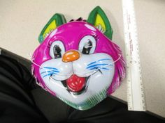 Other Collectible Easter Décor Cat Mask, Halloween Masks, Easter Bunny, Baby Items, Cartoon, Cats, Pink, Ebay, Collection
