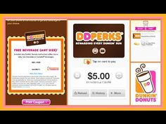 The Dunkin Donuts app - How to use it to get FREE doughnuts and lattes and coffee