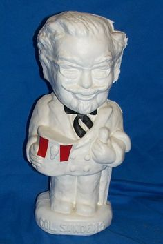 Colonel Sanders Piggybank Kentucky Fried Chicken Piggy Bank Advertising Vintage #ColonelSandersKentuckyFriedChicken