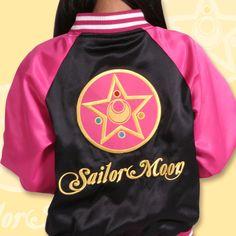 Varsity Jackets With Sailor Moon Style
