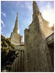 Portland Oregon Temple. #LDS #Temple We love Temples at: www.MormonFavorites.com