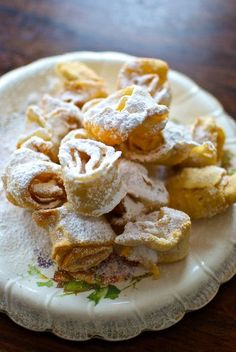 Crostoli, pasta dulce, receta italiana con Thermomix « Thermomix en el mundo