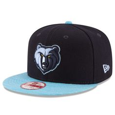 aa1d15d6bd66db Men's New Era Navy/Blue Memphis Grizzlies Current Logo Team Solid 9FIFTY Snapback  Adjustable Hat