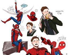 ขออนุญาต (@I_am_numer1) | ทวิตเตอร์ Spider-Man: Homecomin
