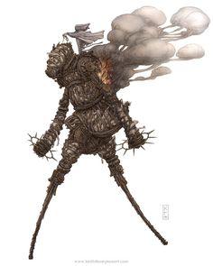 Keith Thompson is a creepy guy, but I do love his art...