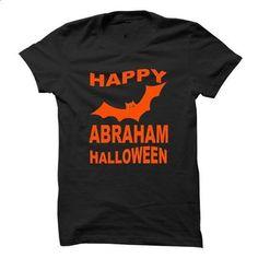 ABRAHAM HALLOWEEN - #white shirt #wool sweater. SIMILAR ITEMS => https://www.sunfrog.com/Names/ABRAHAM-HALLOWEEN.html?68278